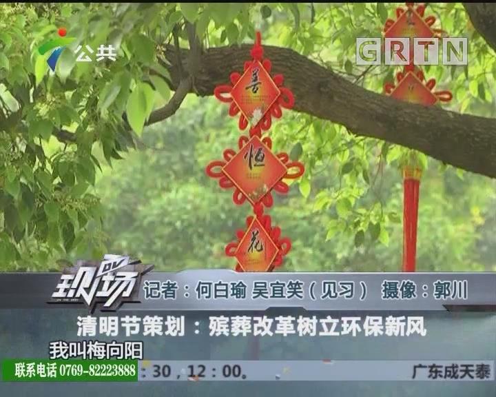 清明节策划:殡葬改革树立环保新风