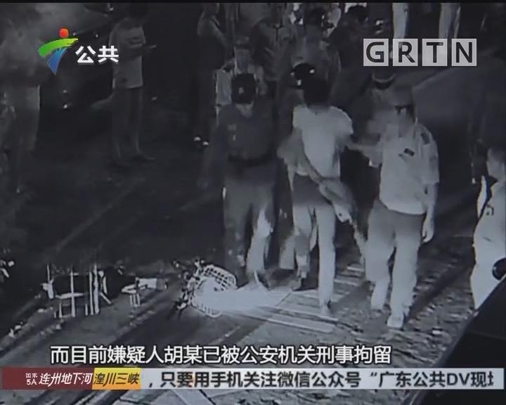 佛山:男子骑电动车抢手机 百米不到即被抓