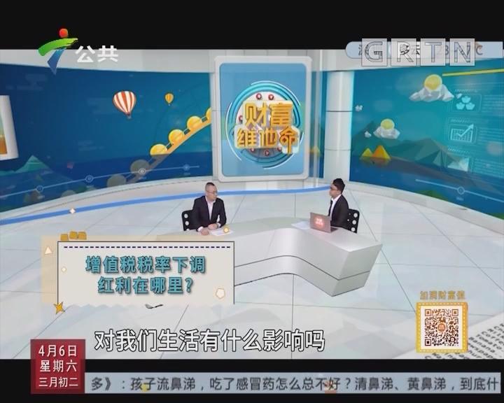 [2019-04-06]财富维他命:增值税税率下调红利在哪里?