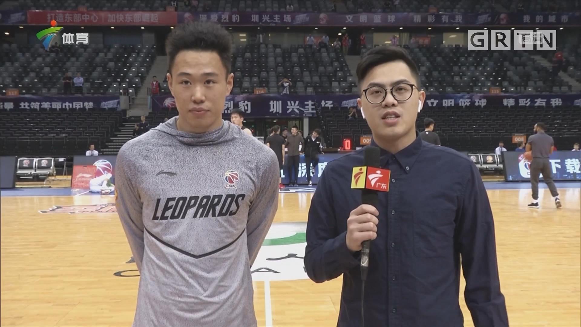 记者连线:深圳队备战最新情况