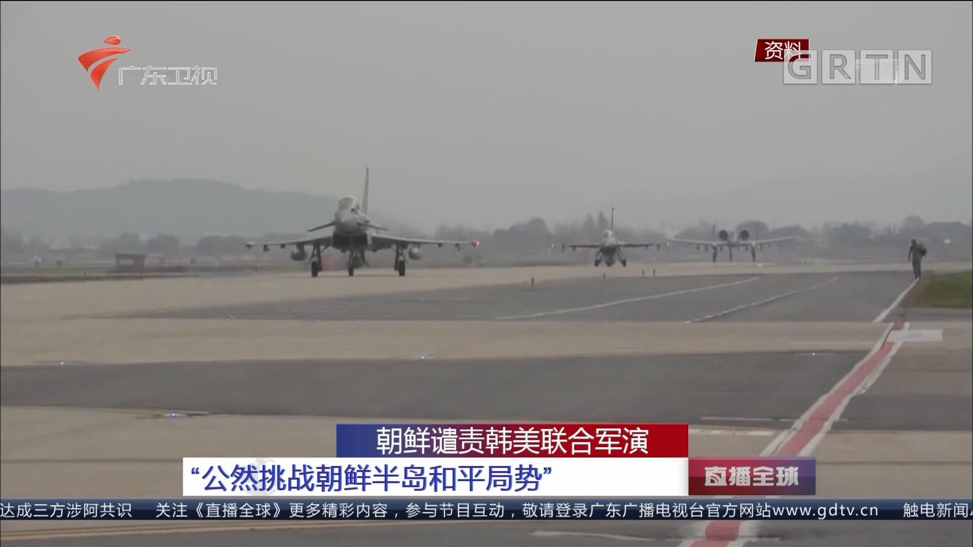 """朝鲜谴责韩美联合军演:""""公然挑战朝鲜半岛和平局势"""""""