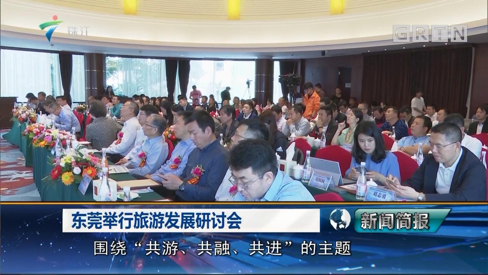 东莞举行旅游发展研讨会