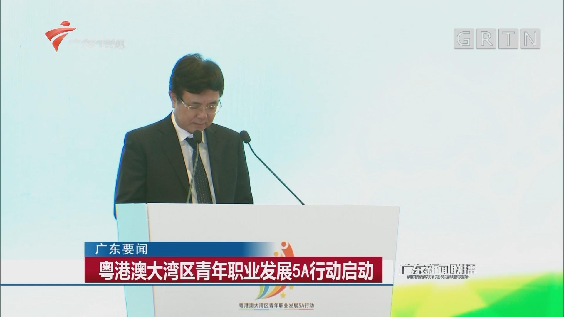 粤港澳大湾区青年职业发展5A行动启动