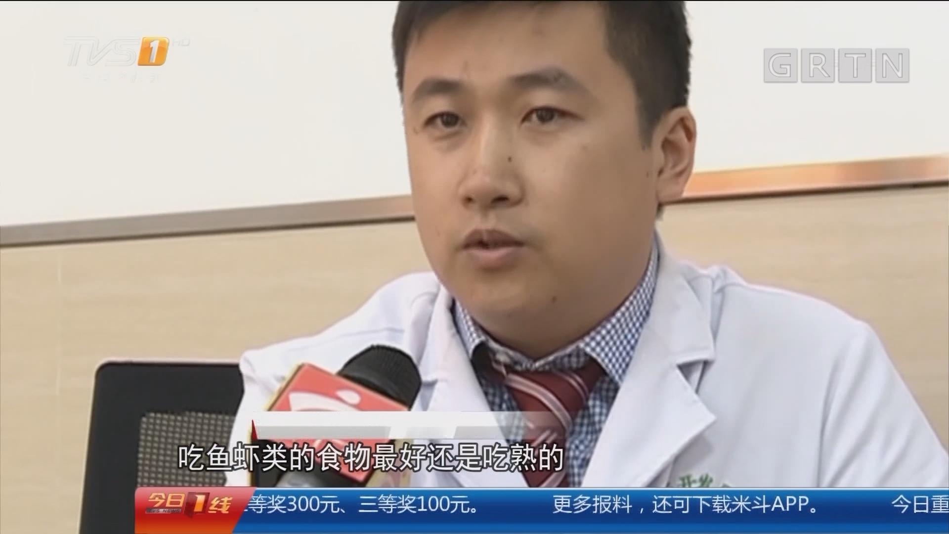 中山:男子胆囊取出活虫 只因爱吃鱼生?