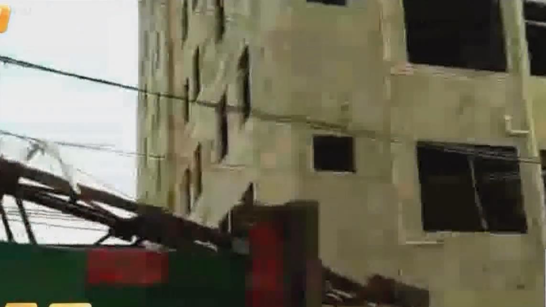 湛江徐闻:刮倒大树掀翻屋顶 狂风暴雨突袭