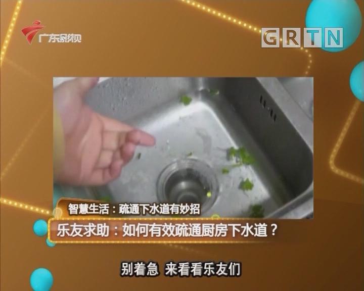 乐友求助:如何有效疏通厨房下水道?