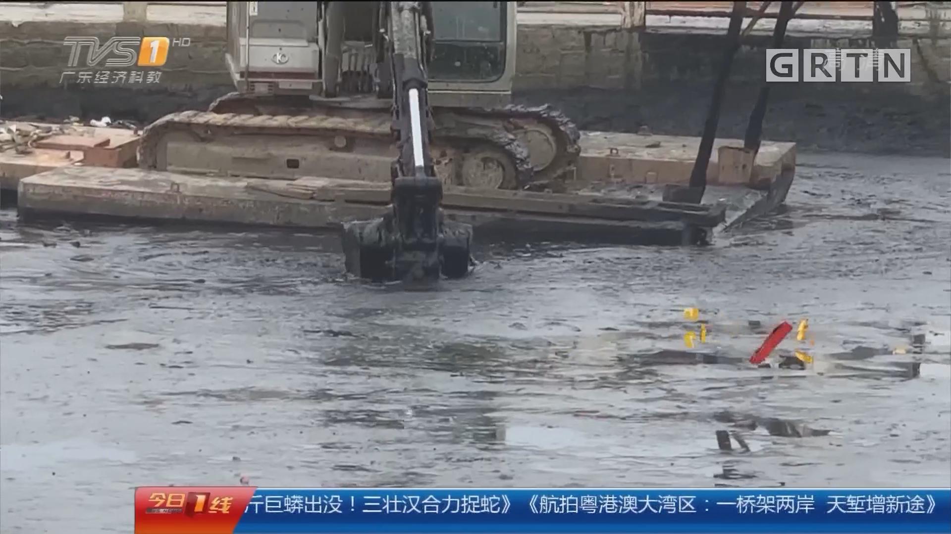 汕头水浸新闻追踪:破围堰保民生 力争汛期前完成河道清淤
