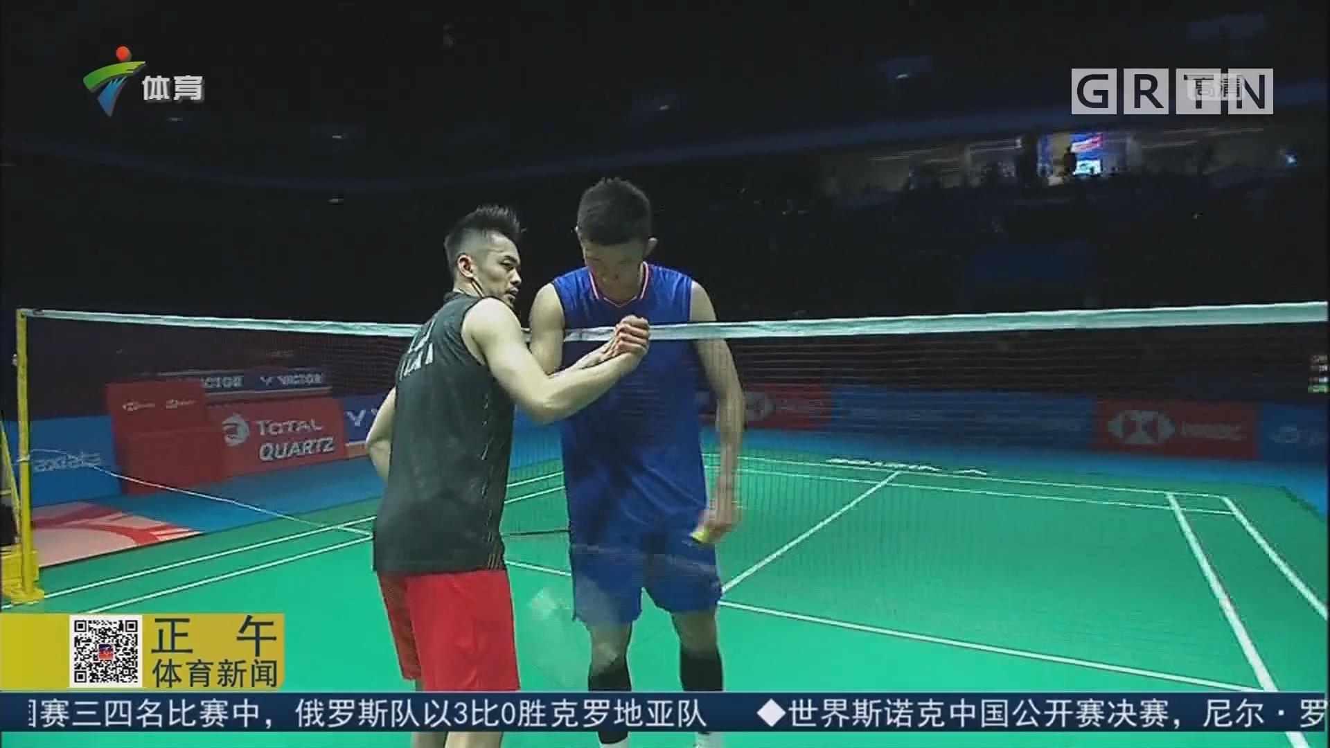林丹逆转击败谌龙 终结11个月冠军荒