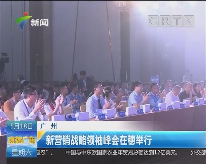 广州:新营销战略领袖峰会在穗举行