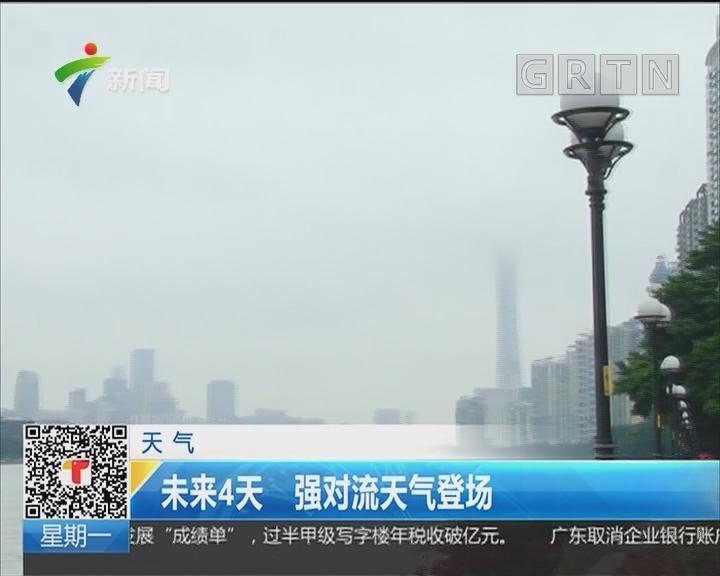 天气:未来4天 强对流天气登场