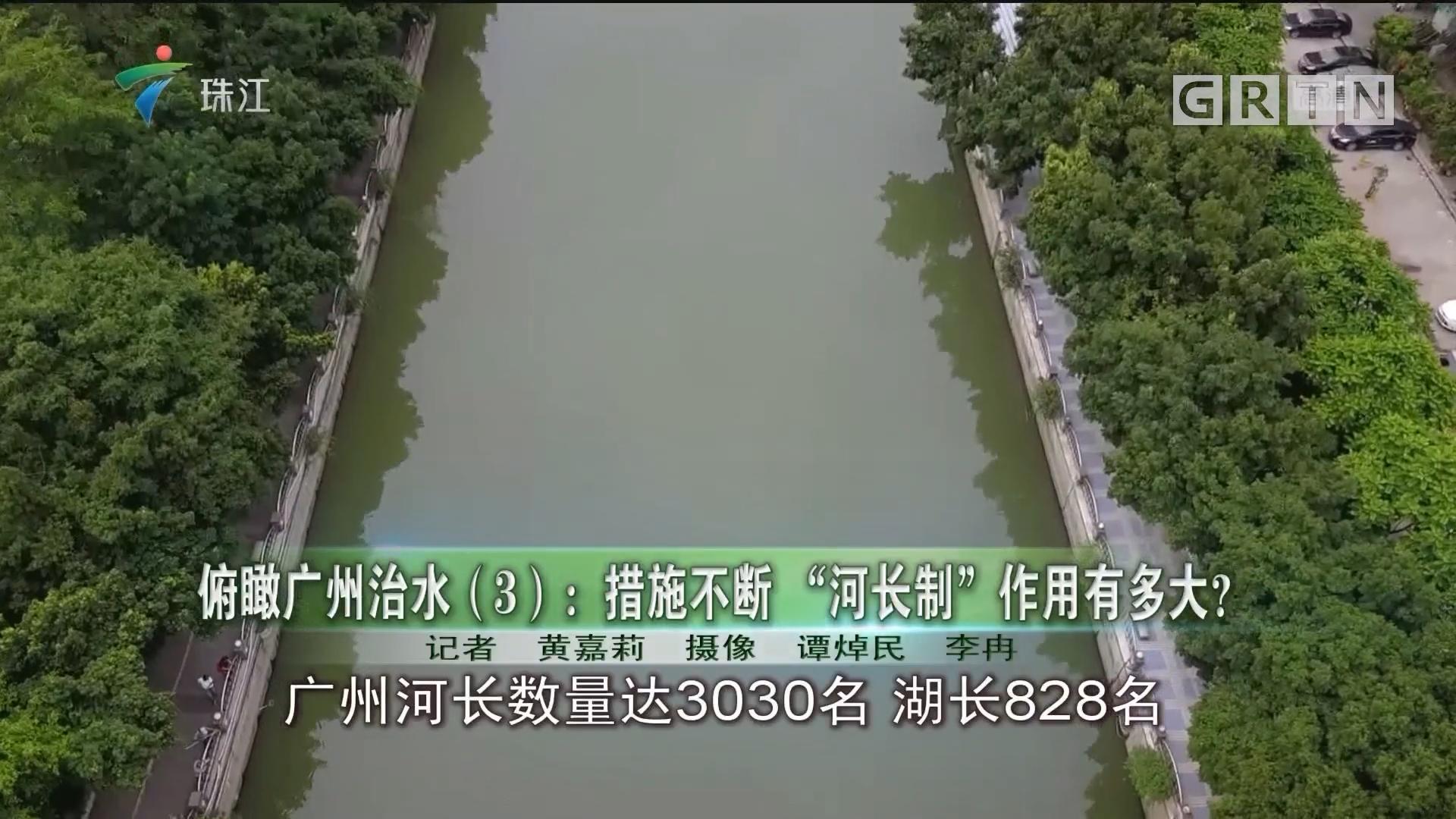 """俯瞰广州治水(3):措施不断 """"河长制""""作用有多大?"""