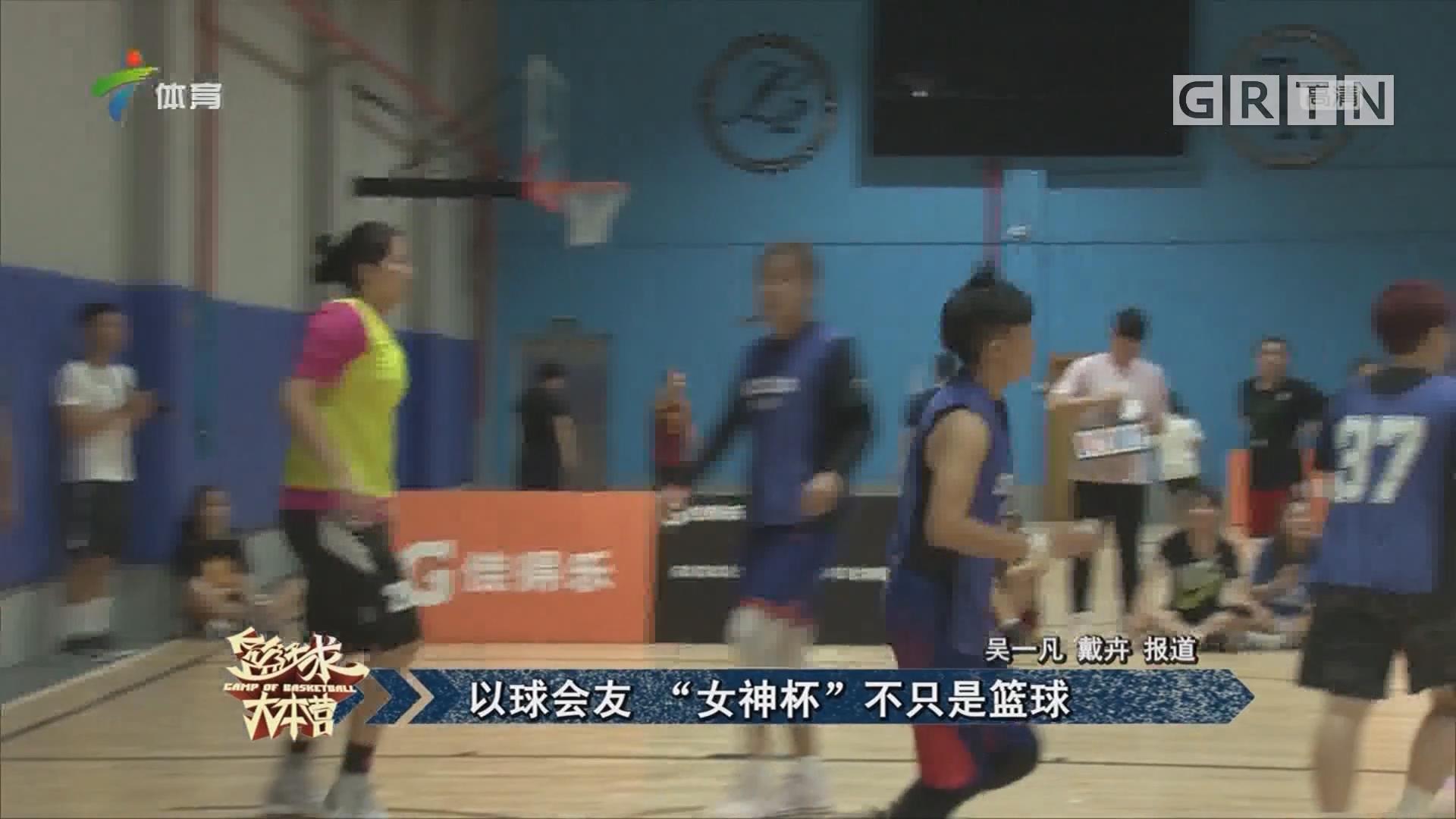 """以球会友 """"女神杯""""不只是篮球"""