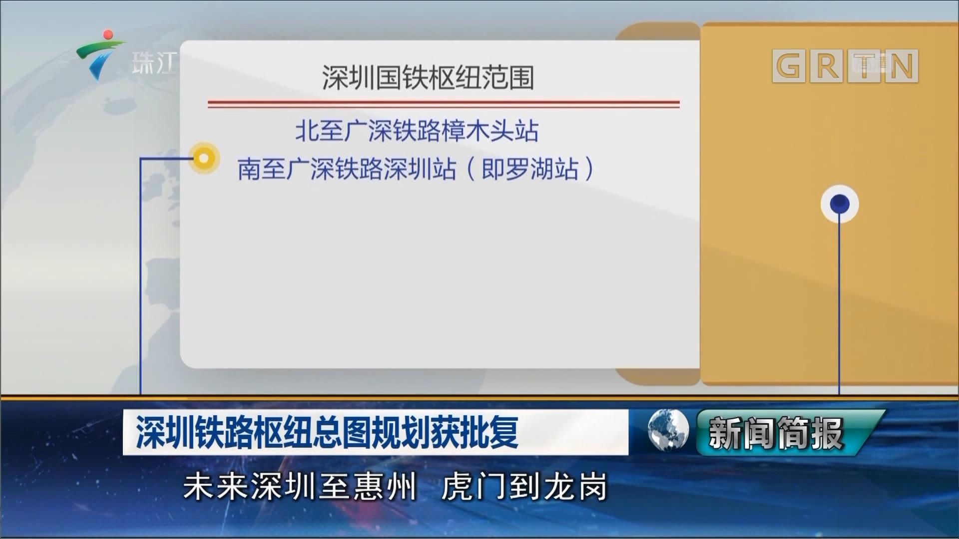 深圳铁路枢纽总图规划获批复