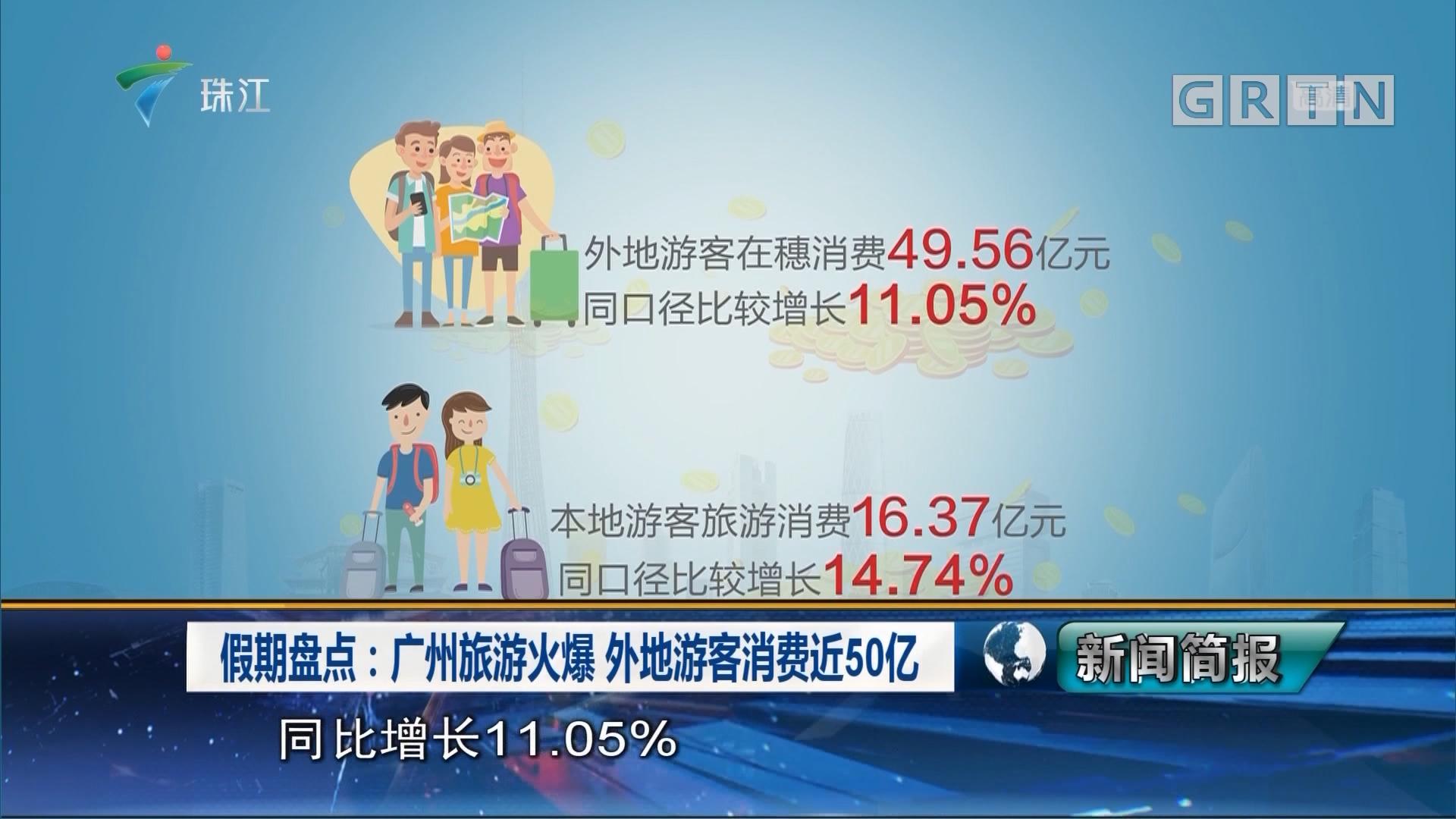 假期盘点:广州旅游火爆 外地游客消费近50亿