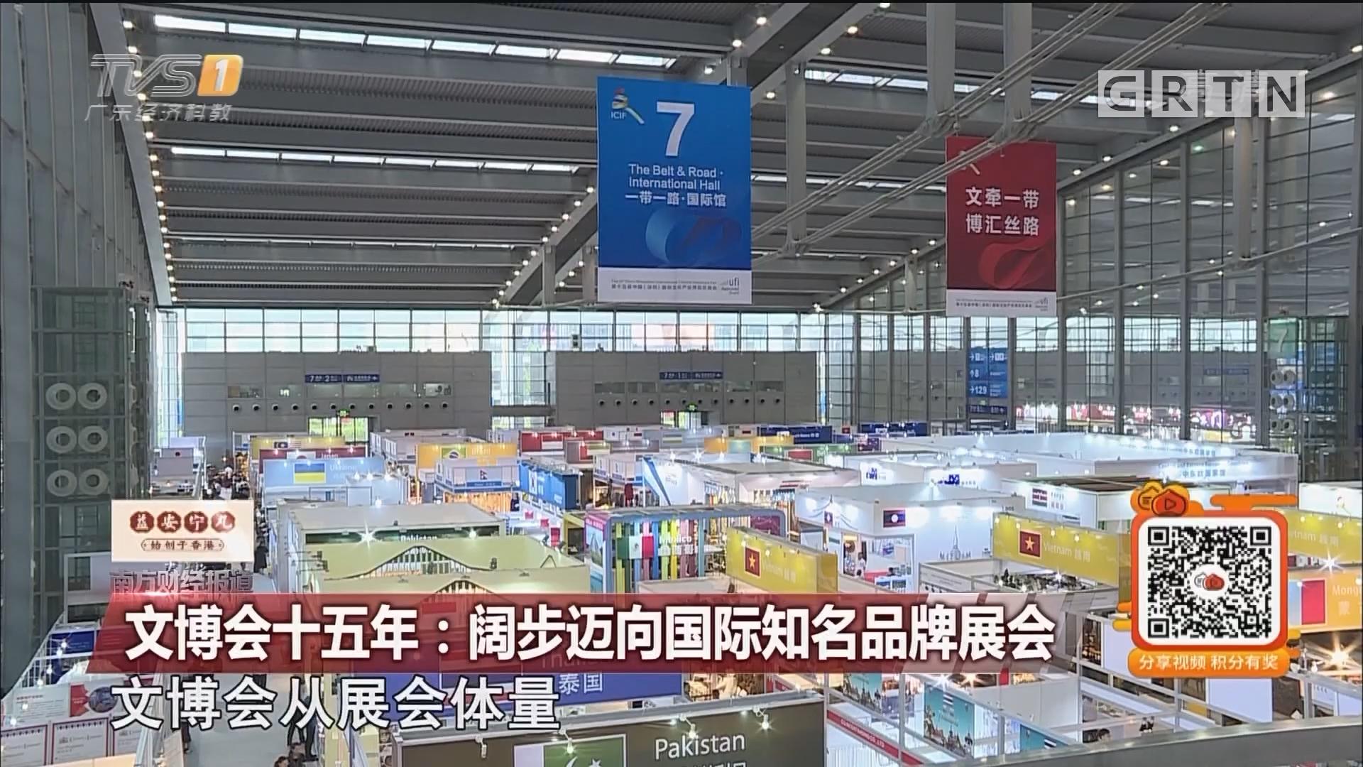 文博会十五年:阔步迈向国际知名品牌展会