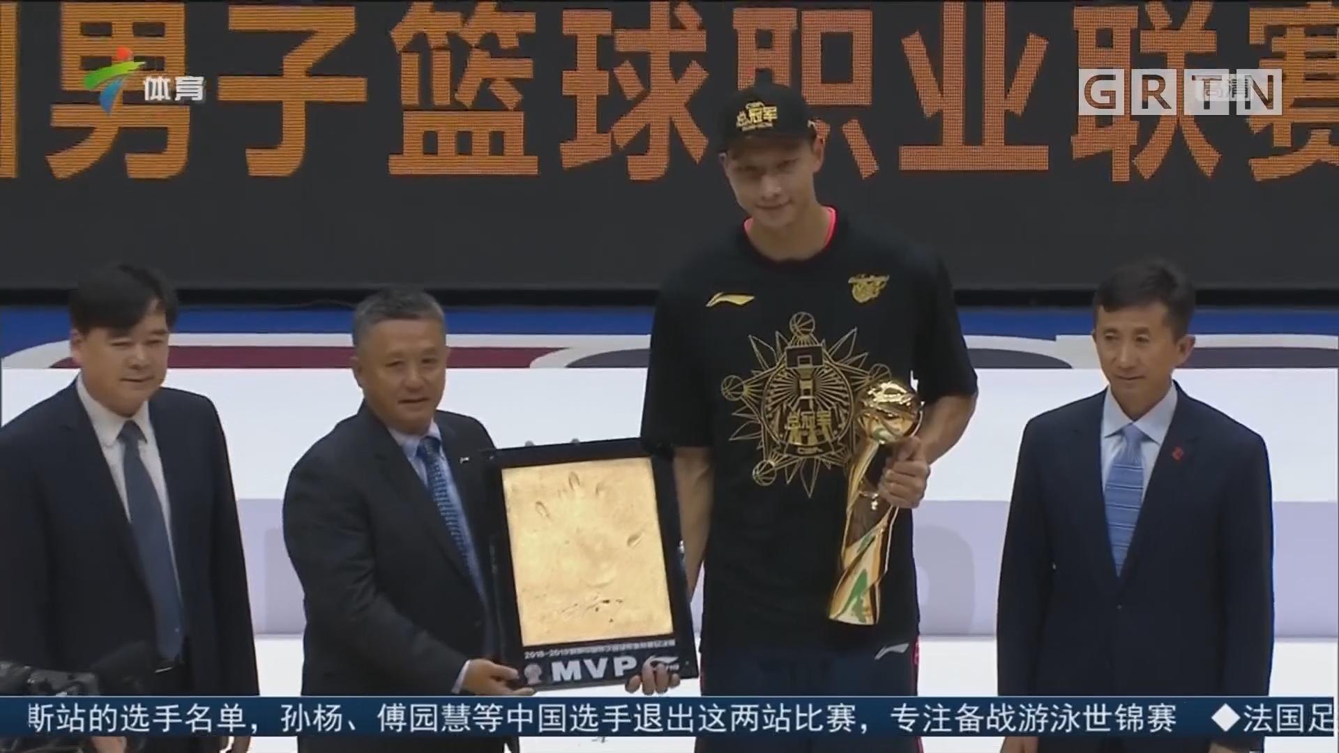 易建联当选总决赛MVP