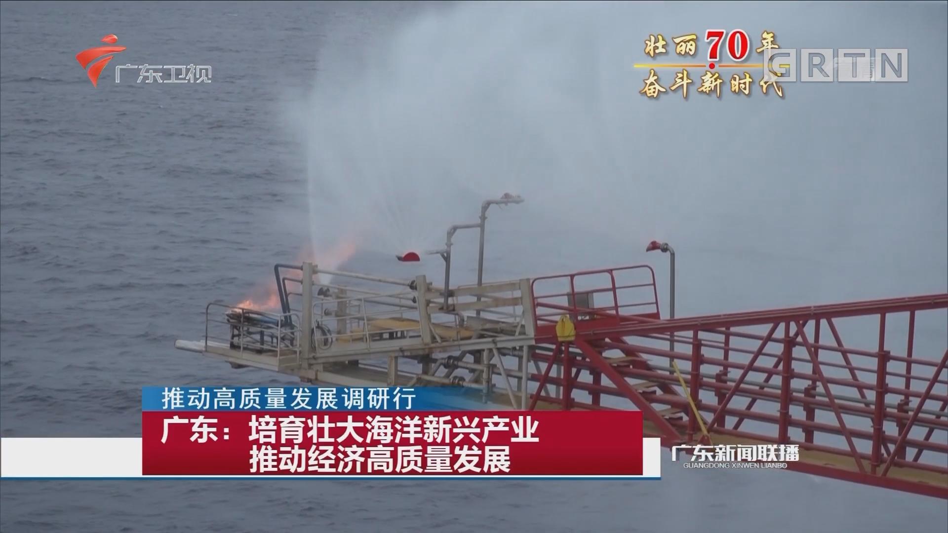 广东:培育壮大海洋新兴产业 推动经济高质量发展