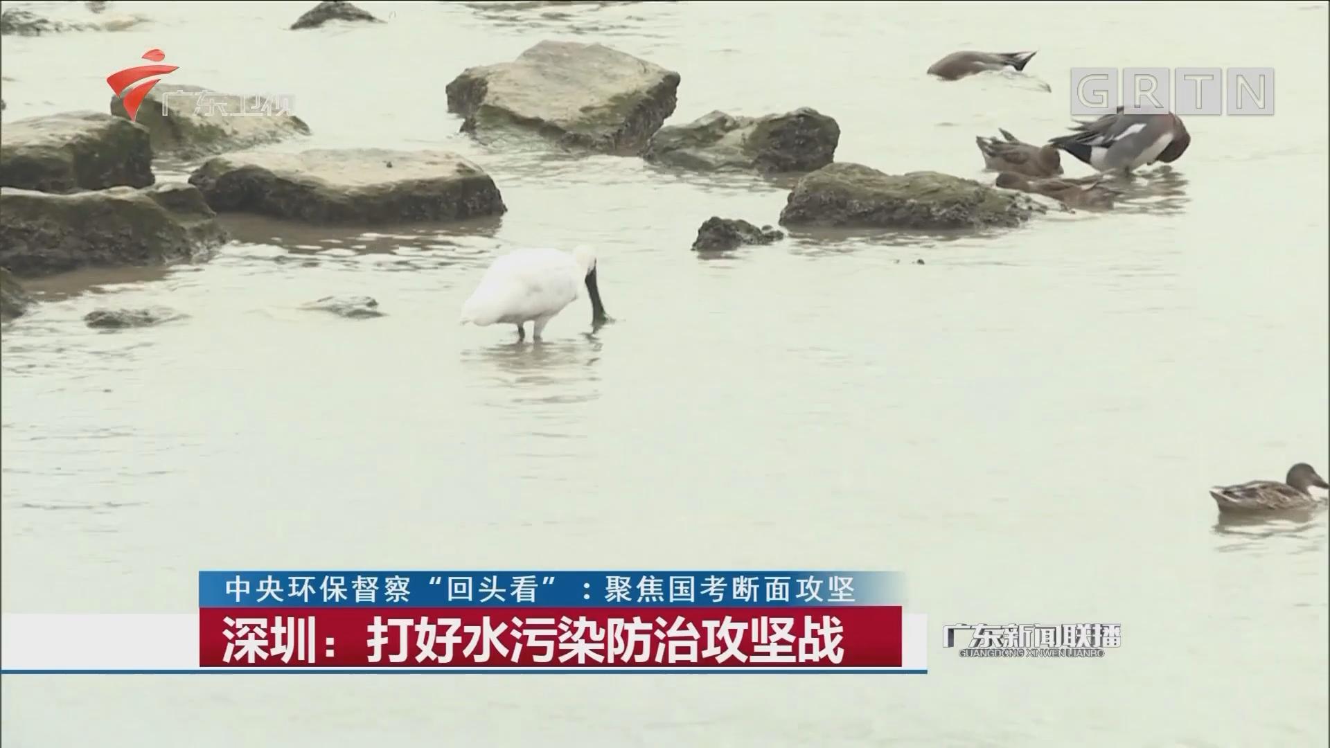 深圳:打好水污染防治攻坚战