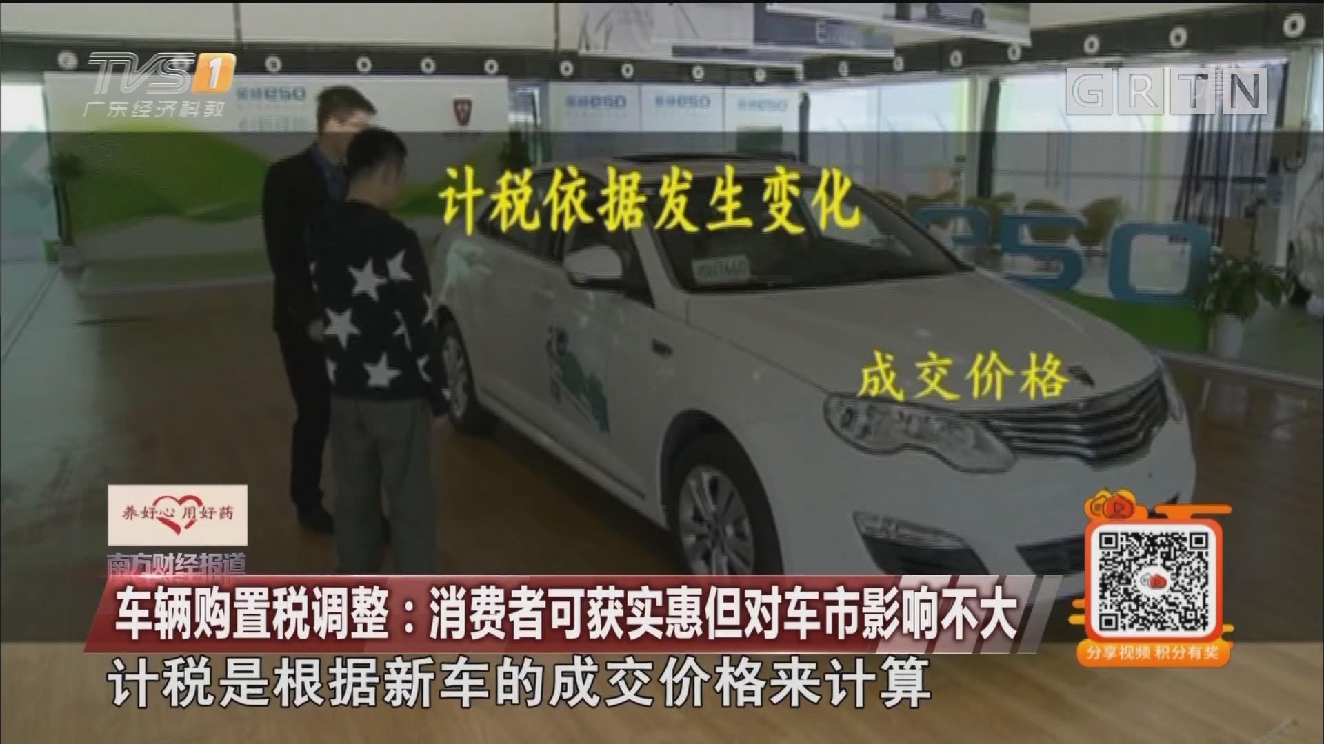 车辆购置税调整:消费者可获实惠但对车市影响不大