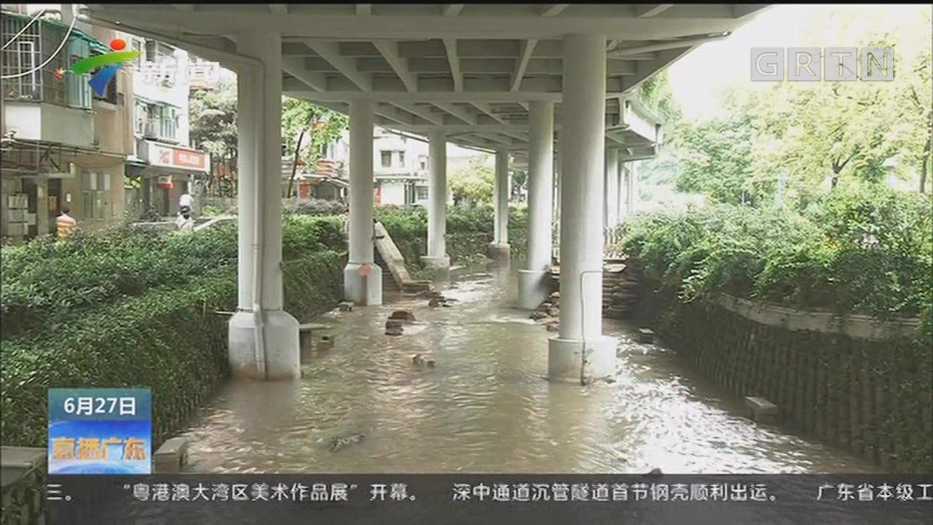 广州:连场大雨 东濠涌深隧试验阶段起作用了吗?