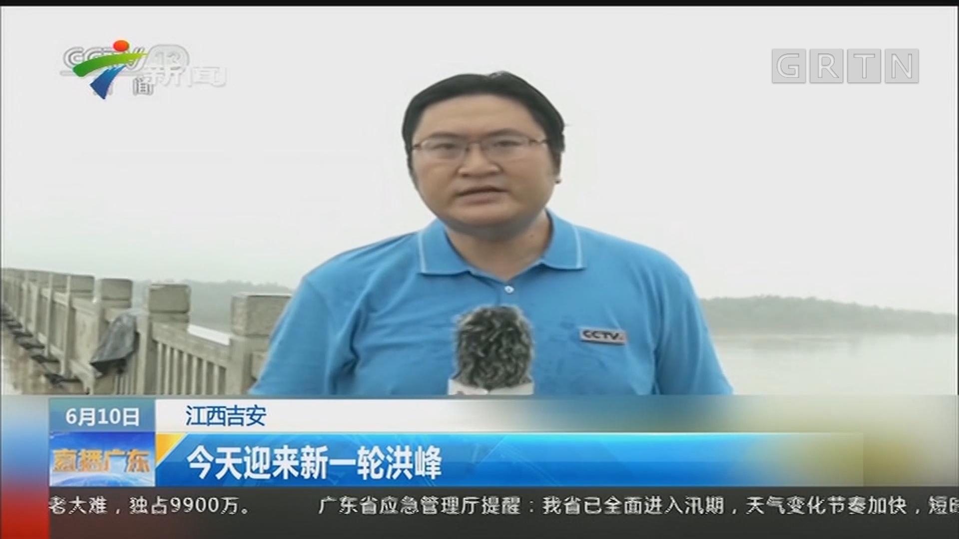 江西吉安:今天迎来新一轮洪峰