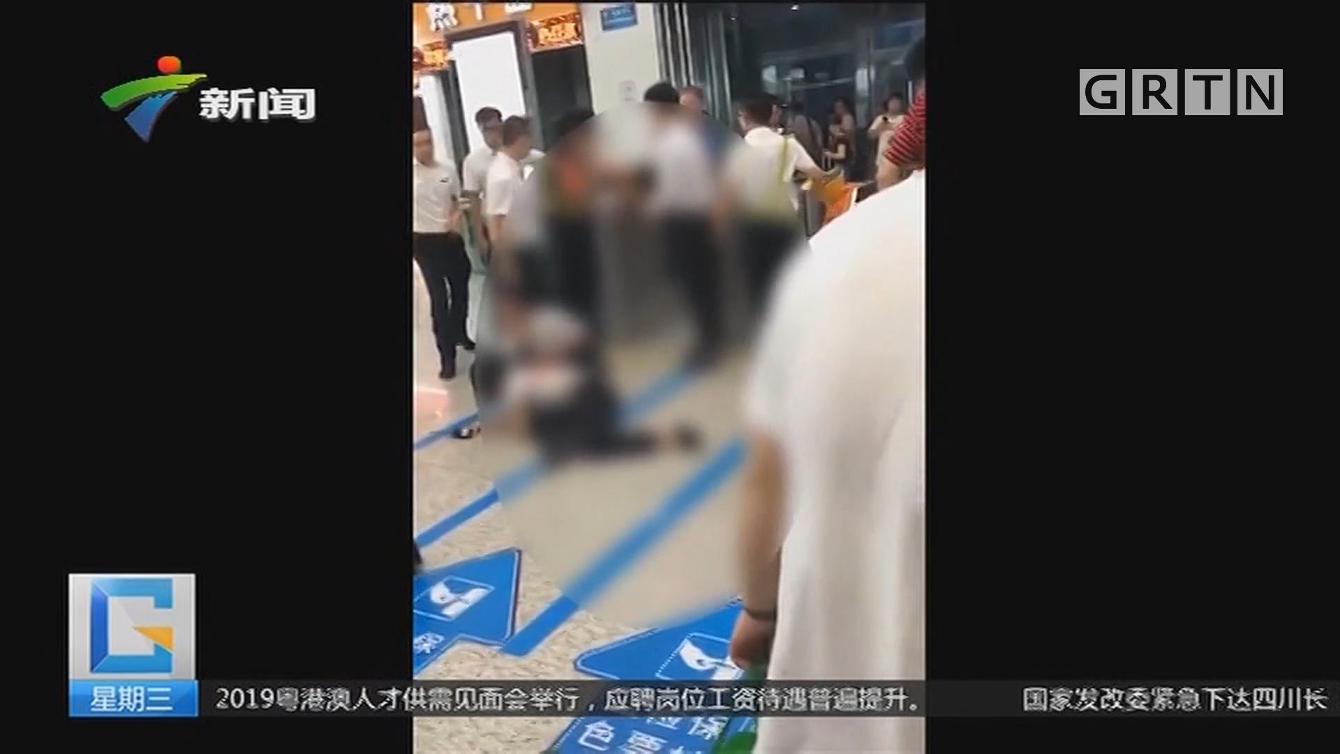 深圳北站:持刀捅伤女客运员 嫌疑人被控制