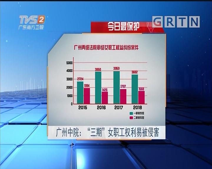 """今日最保护 广州中院:""""三期""""女职工权利易被侵害"""