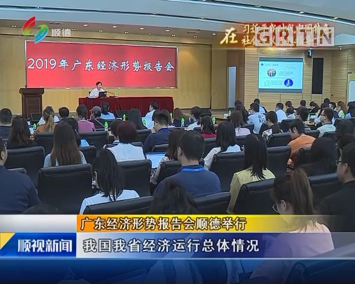 广东经济形势报告会顺德举行