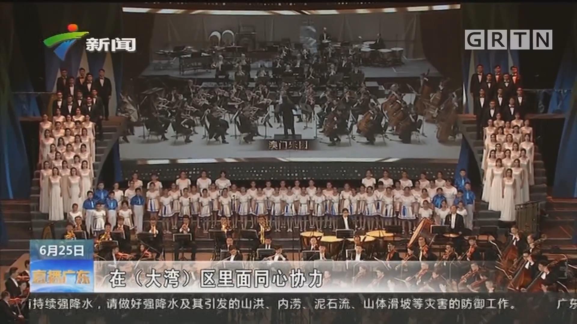 首届粤港澳大湾区文化艺术节开幕:三地共同唱响大湾区美好未来
