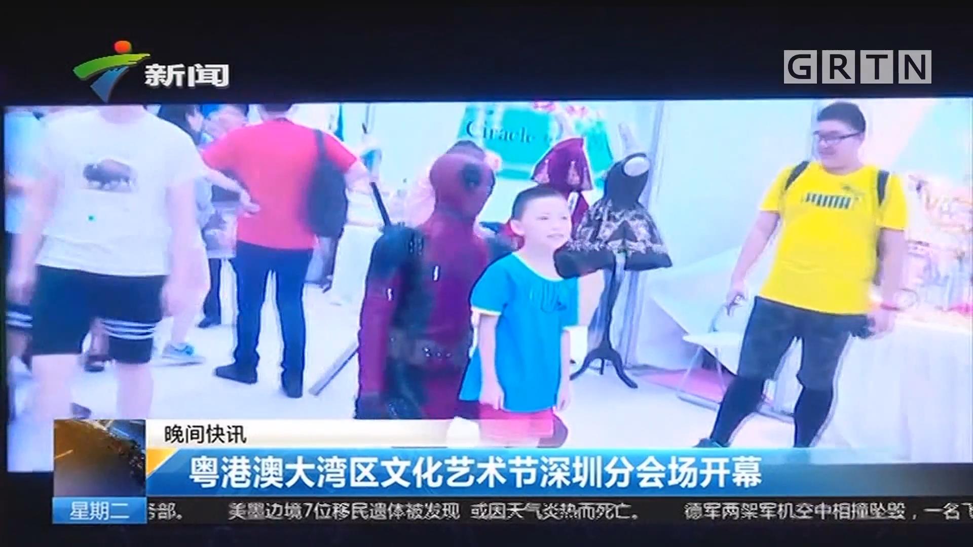 粤港澳大湾区文化艺术节深圳分会场开幕