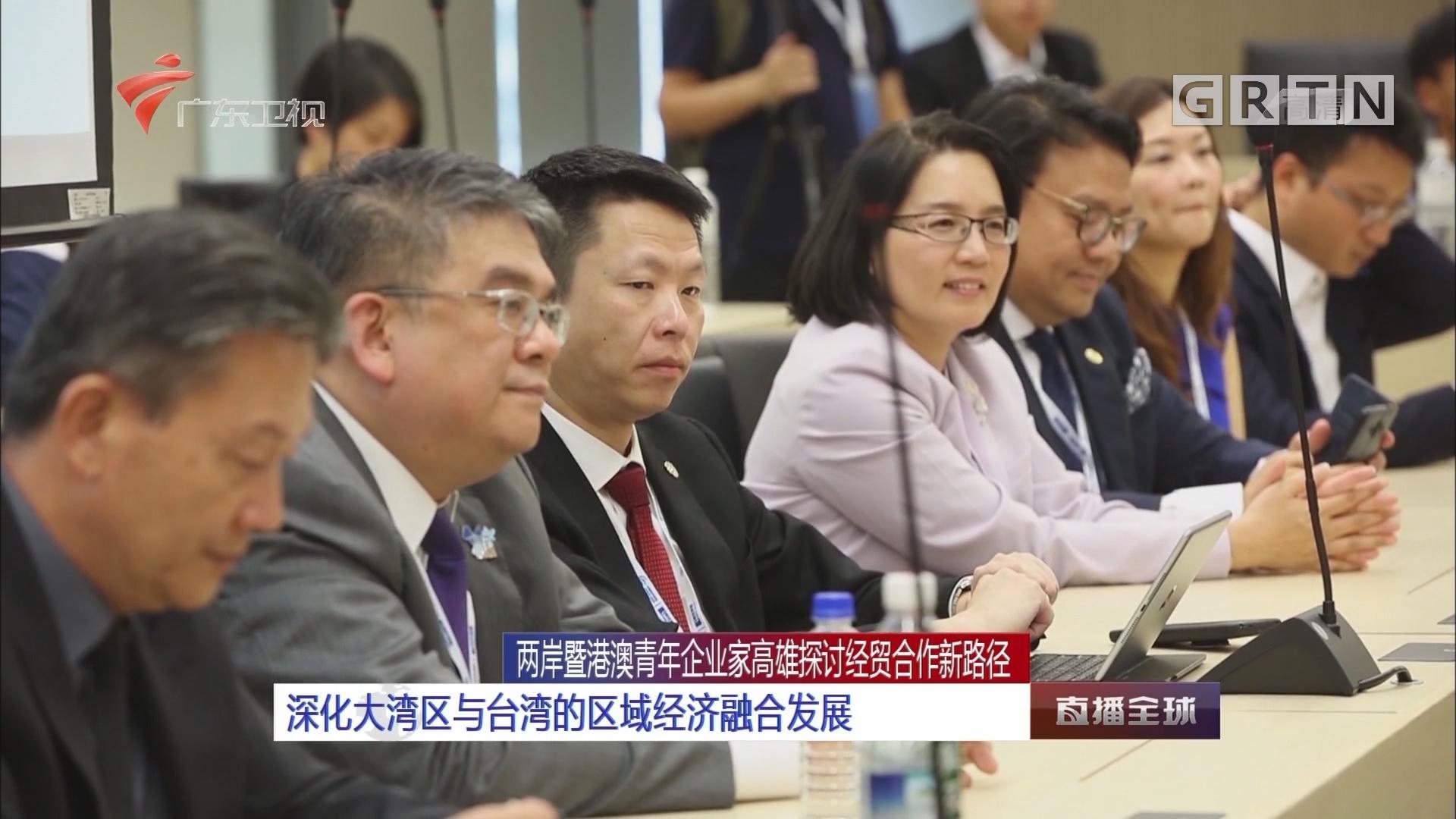 两岸暨港澳青年企业家高雄探讨经贸合作新路径:深化大湾区与台湾的区域经济融合发展