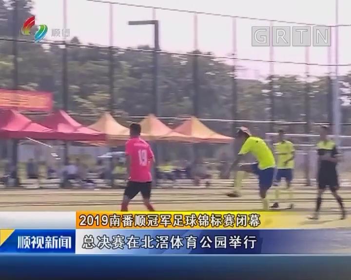 2019南番顺冠军足球锦标赛闭幕