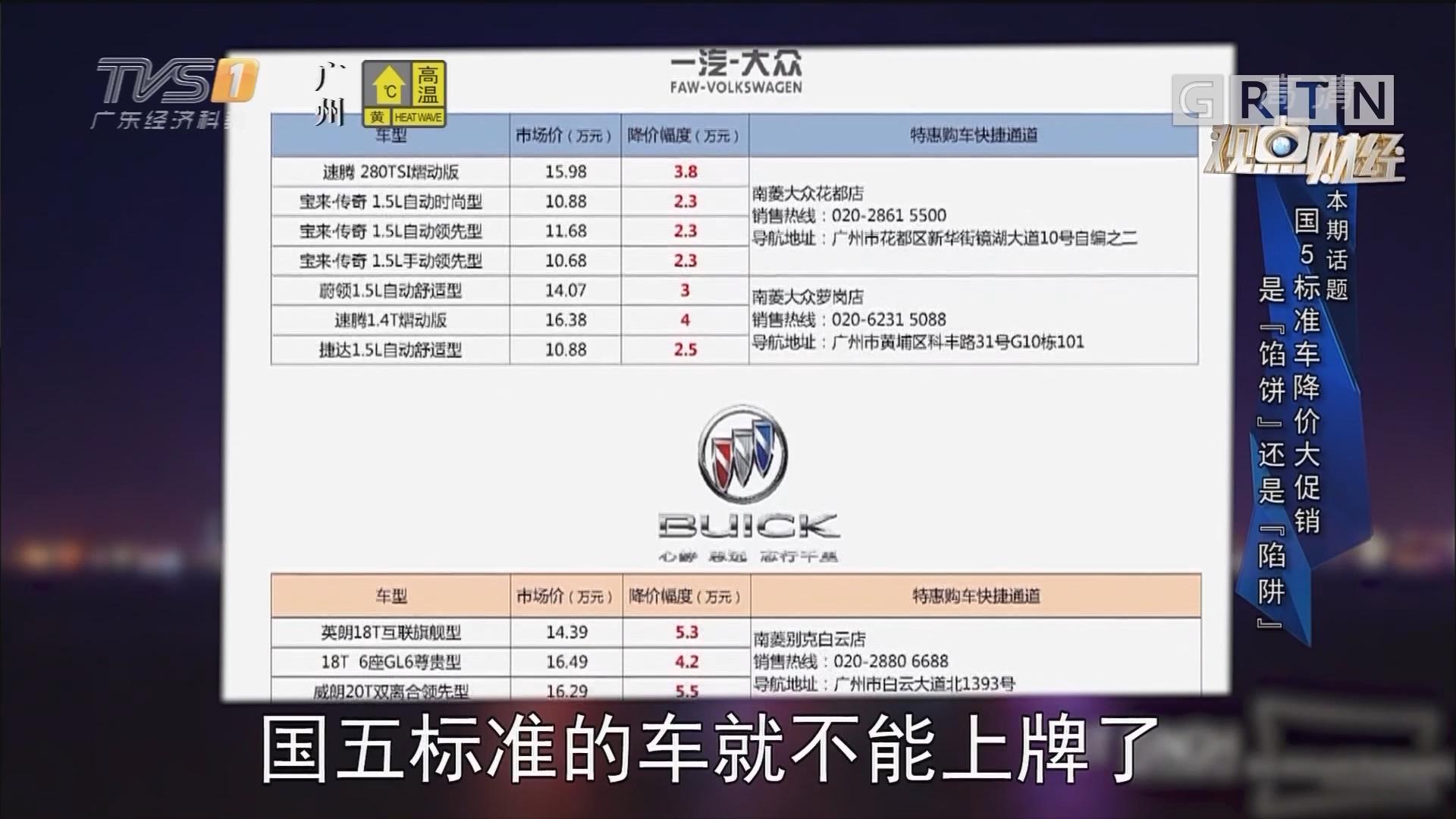 [HD][2019-06-30]观点财经:国5标准车降价大促销是「馅饼」还是「陷阱」