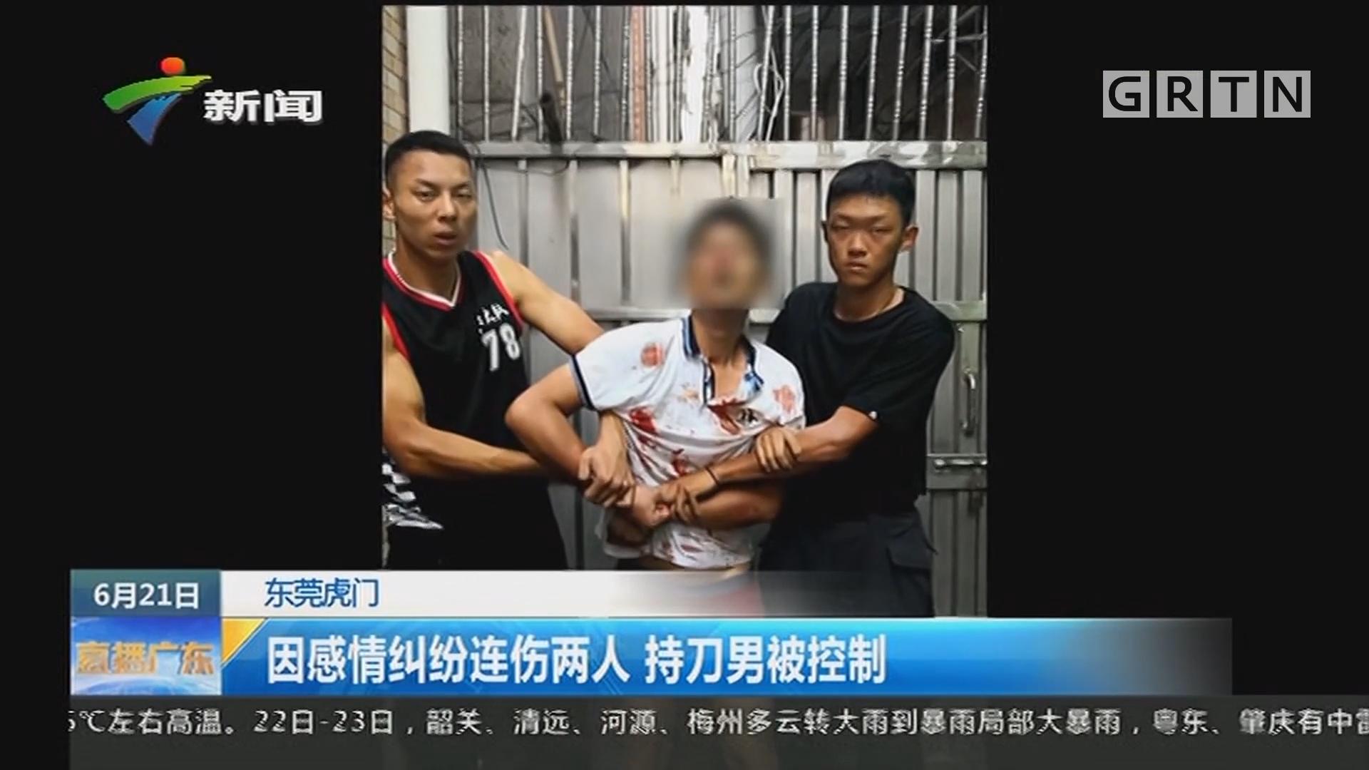 东莞虎门:铁骑队员飞跃楼顶 制服行凶嫌疑人
