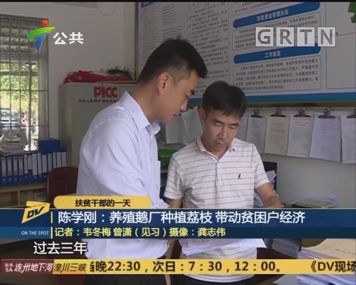 陈学刚:养殖鹅厂种植荔枝 带动贫困户经济