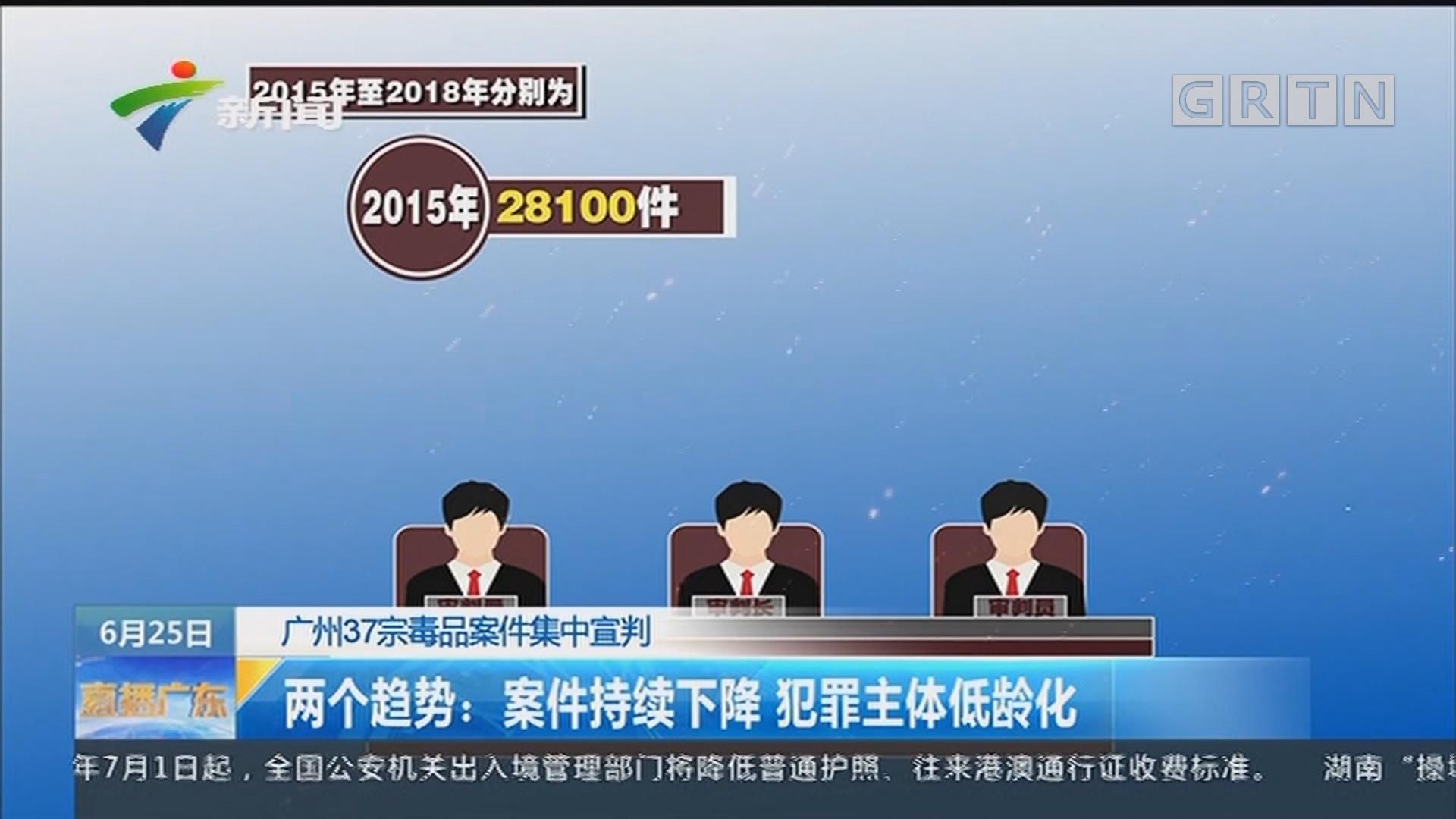广州37宗毒品案件集中宣判:租农场制病毒47公斤 2毒贩被判死刑