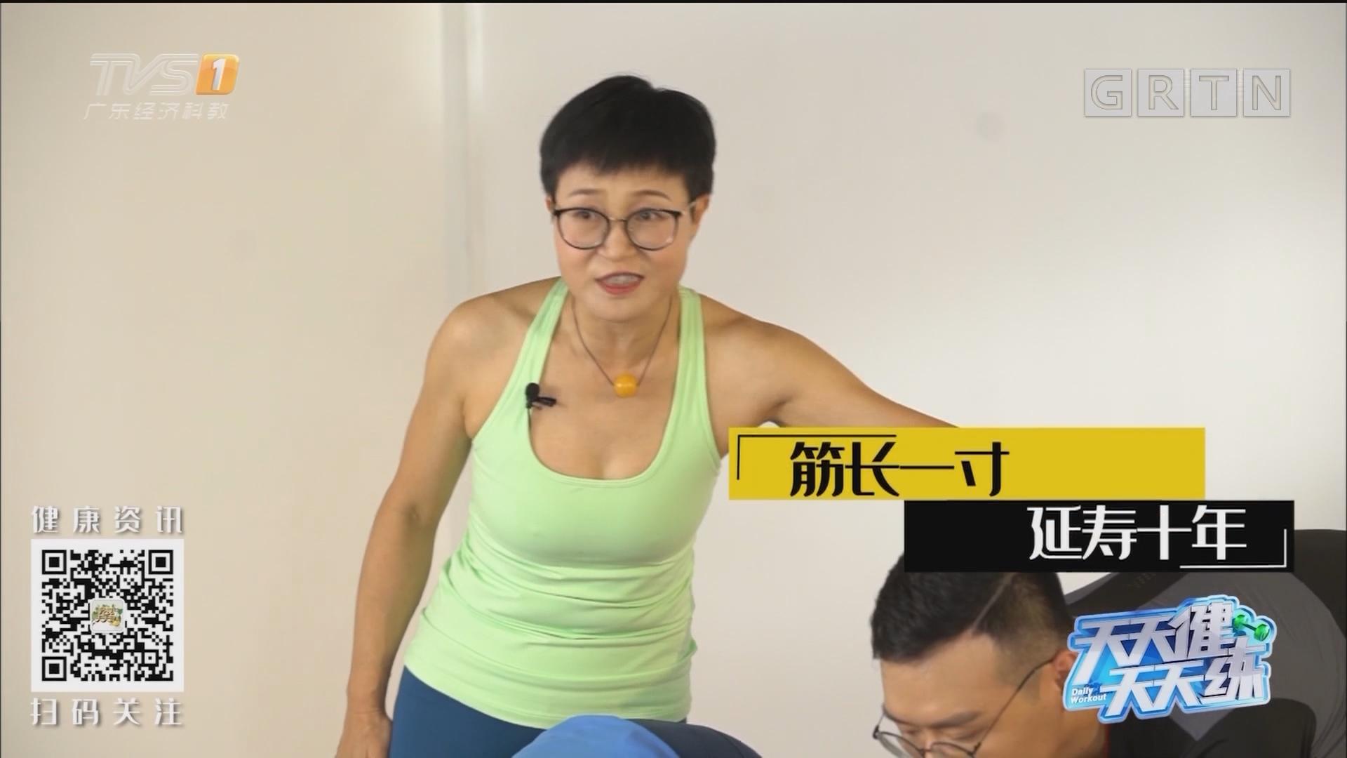 [HD][2019-07-09]经视健康+:天天健天天练:筋长一寸 延寿十年