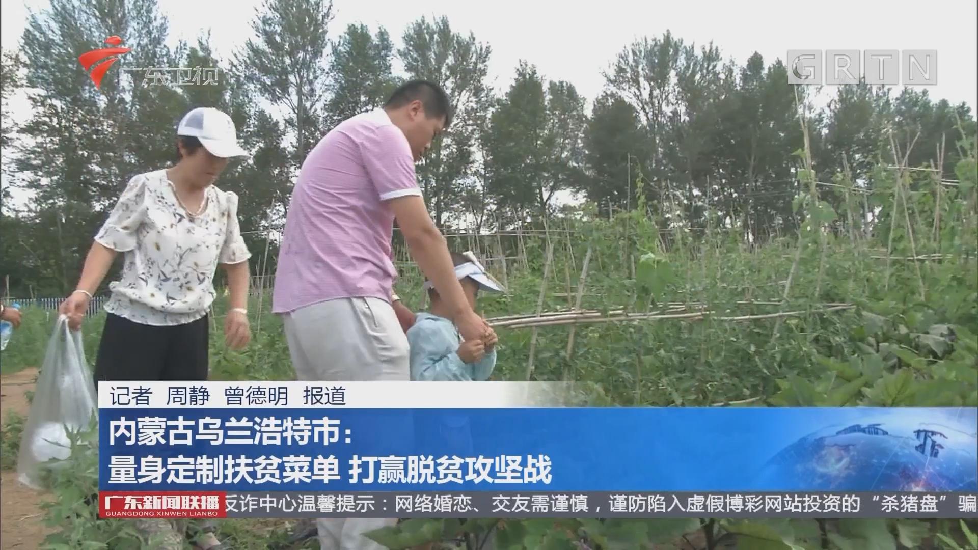 内蒙古乌兰浩特市:量身定制扶贫菜单 打赢脱贫攻坚战