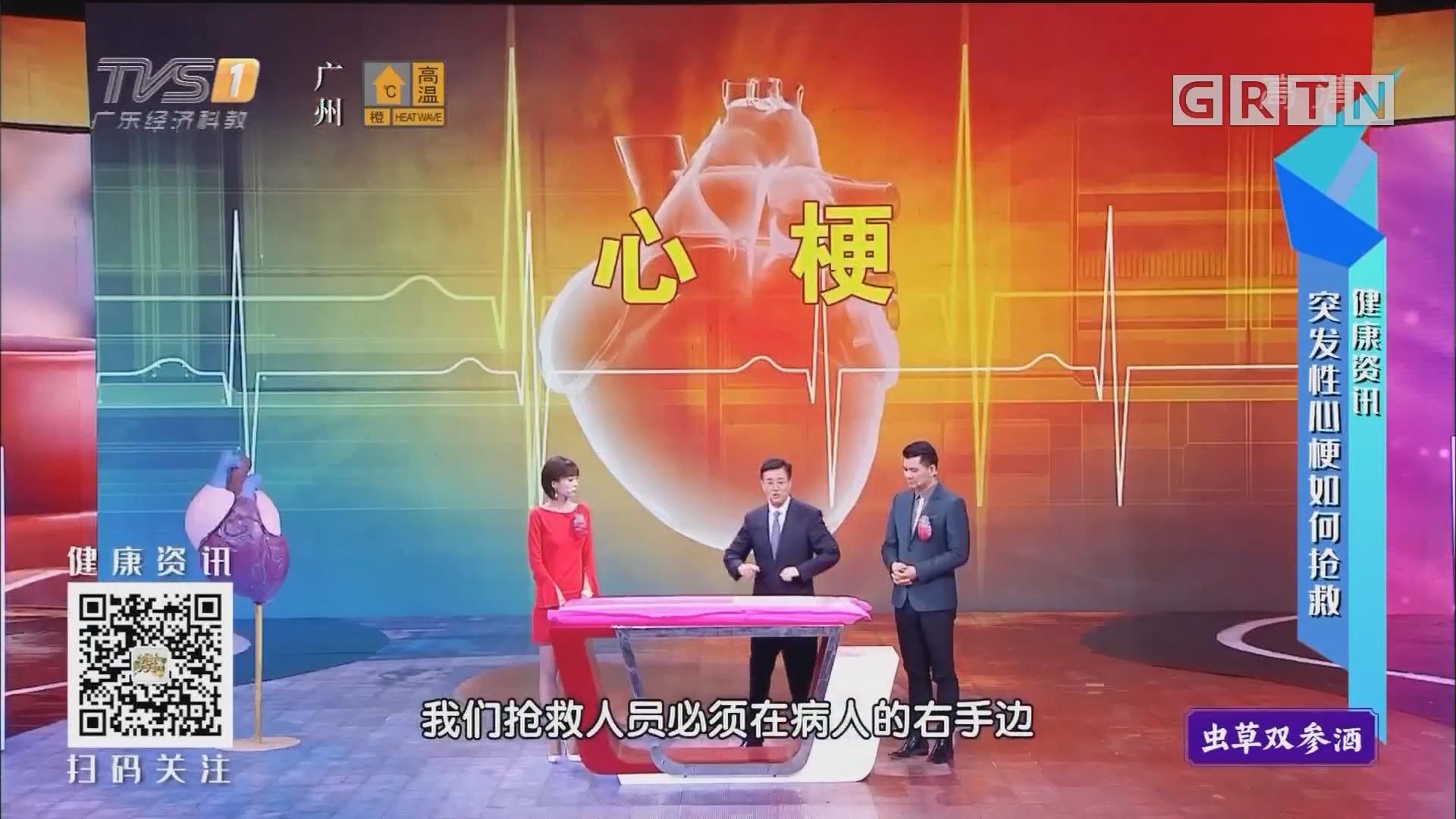 [HD][2019-07-17]经视健康+:健康资讯:突发性心梗如何抢救