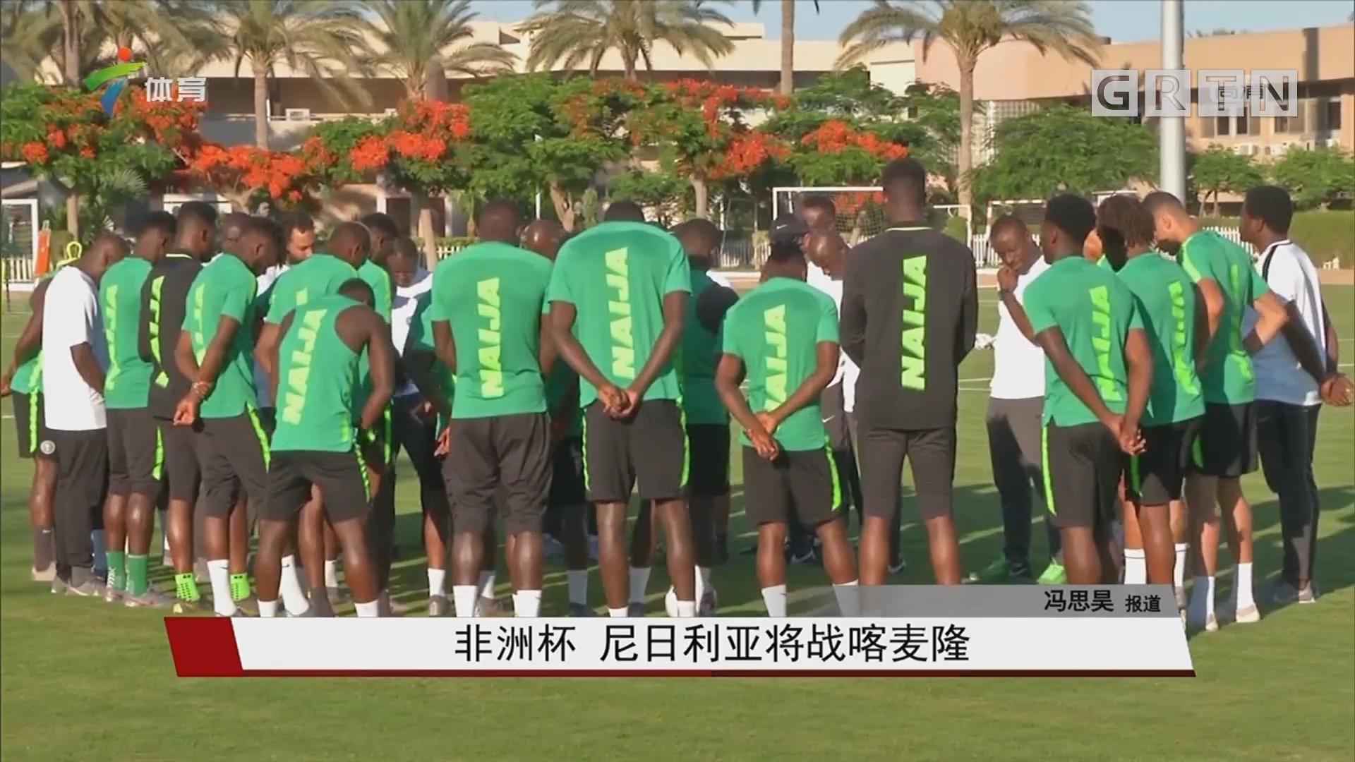 非洲杯 尼日利亚将战喀麦隆
