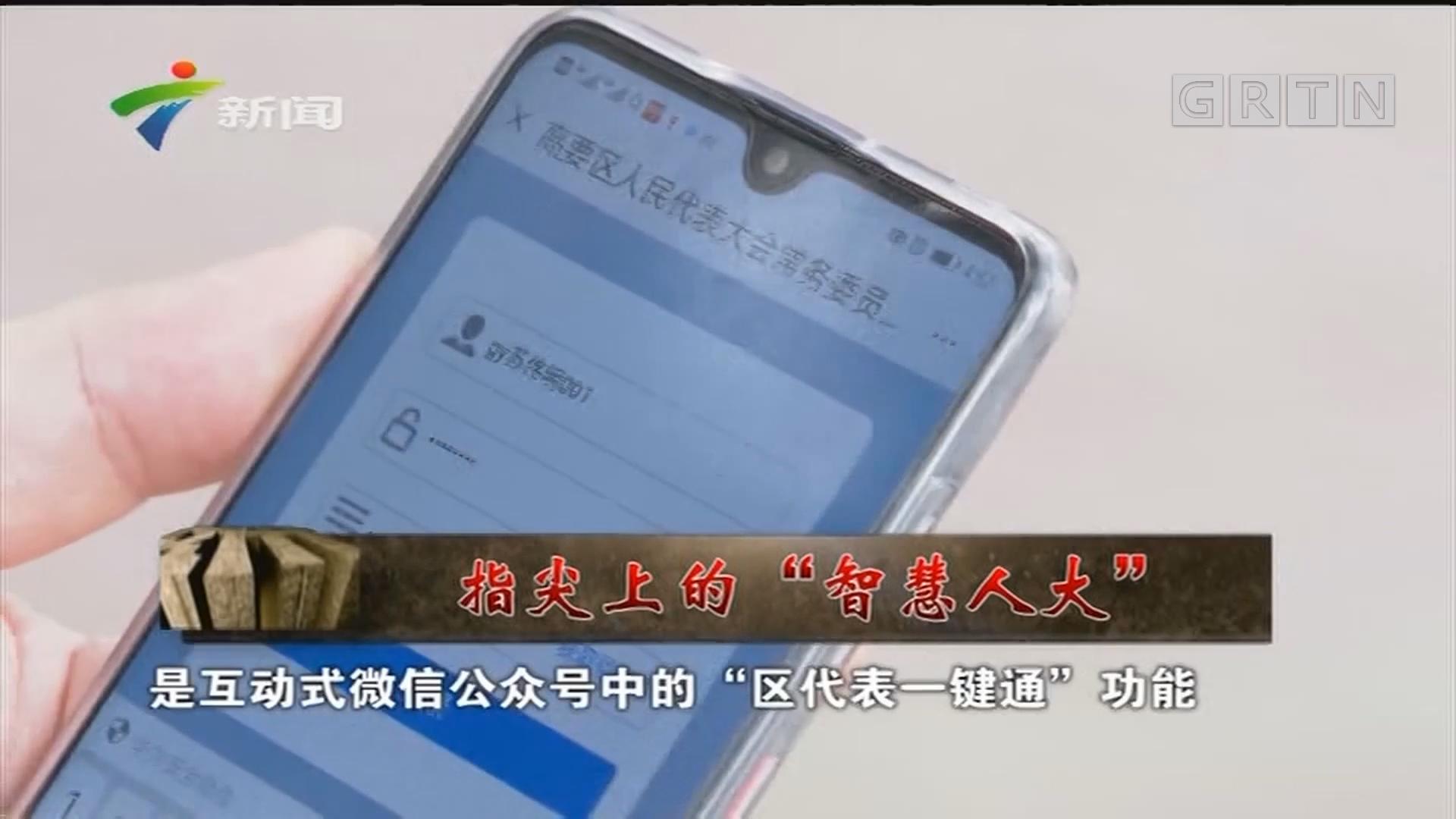 """[HD][2019-07-06]人大代表:指尖上的""""智慧人大"""""""