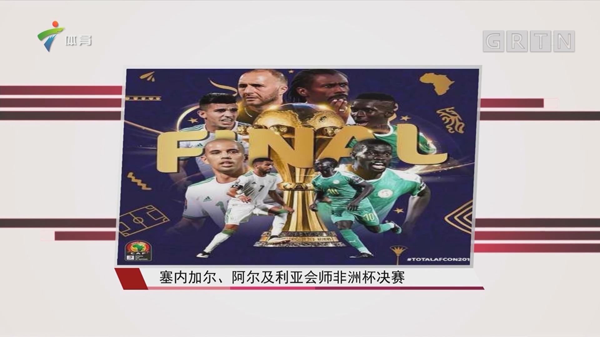 塞内加尔、阿尔及利亚会师非洲杯决赛