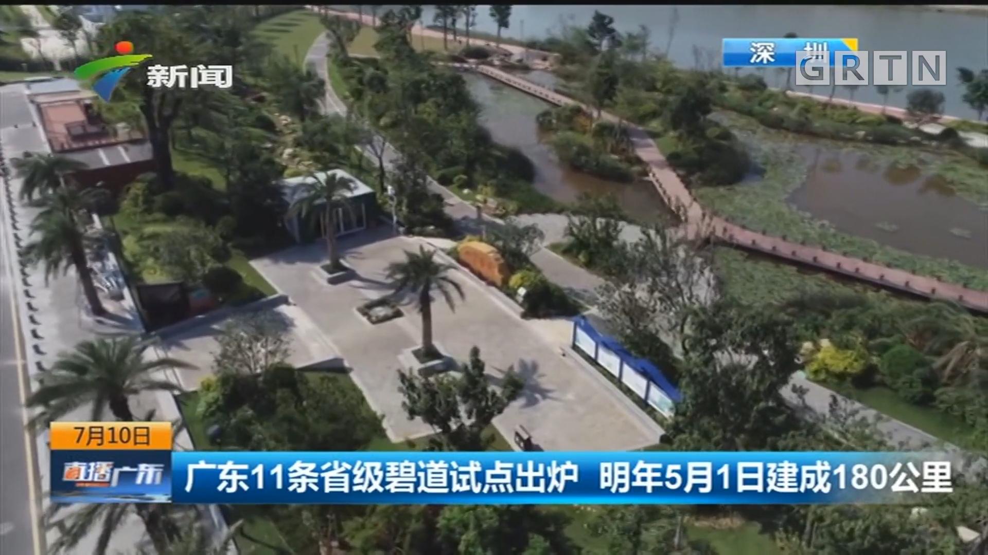 广东11条省级碧道试点出炉 明年5月1日建成180公里