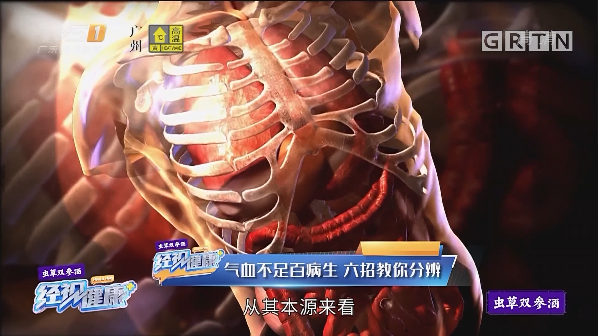 [HD][2019-08-21]经视健康+:气血不足百病生 六招教你分辨