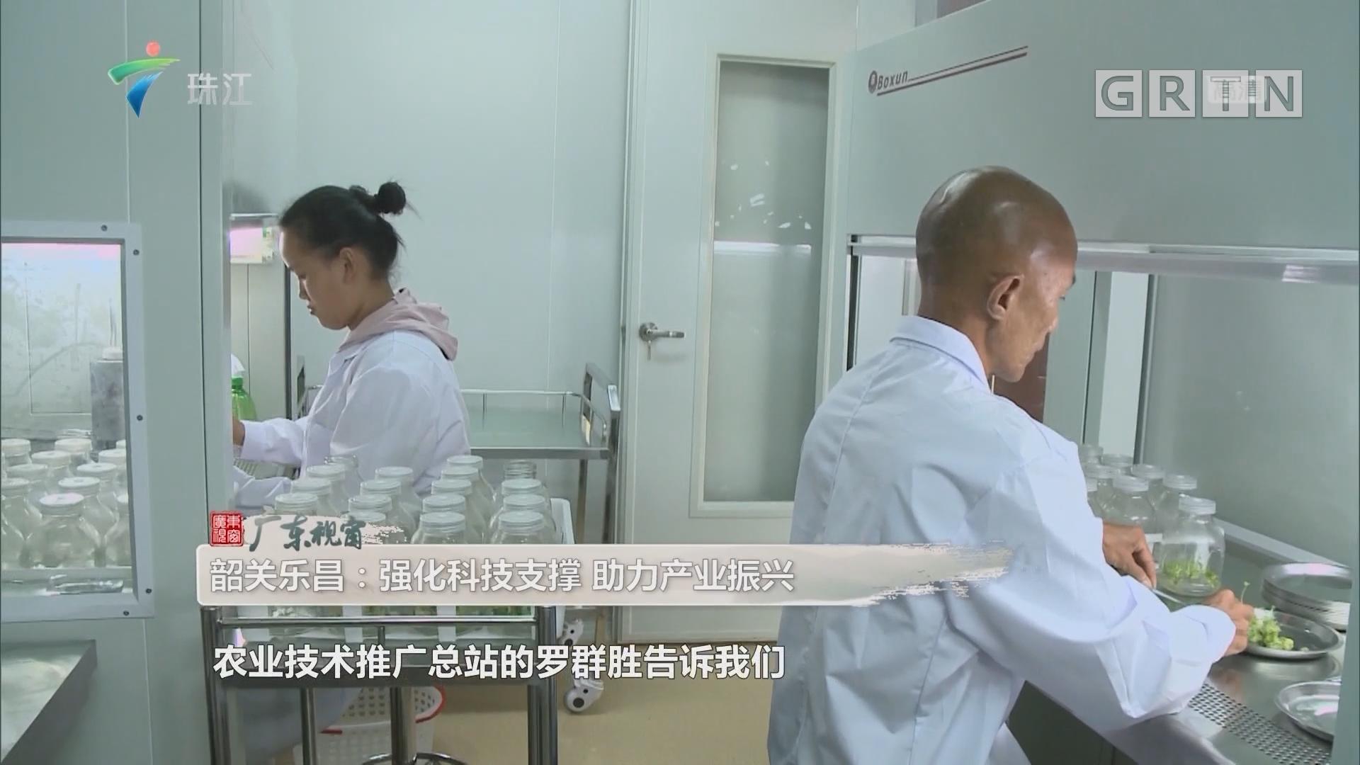 韶关乐昌:强化科技支撑 助力产业振兴