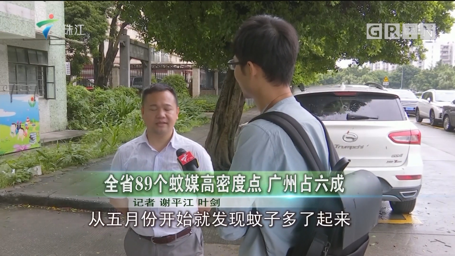 全省89个蚊媒高密度点 广州占六成