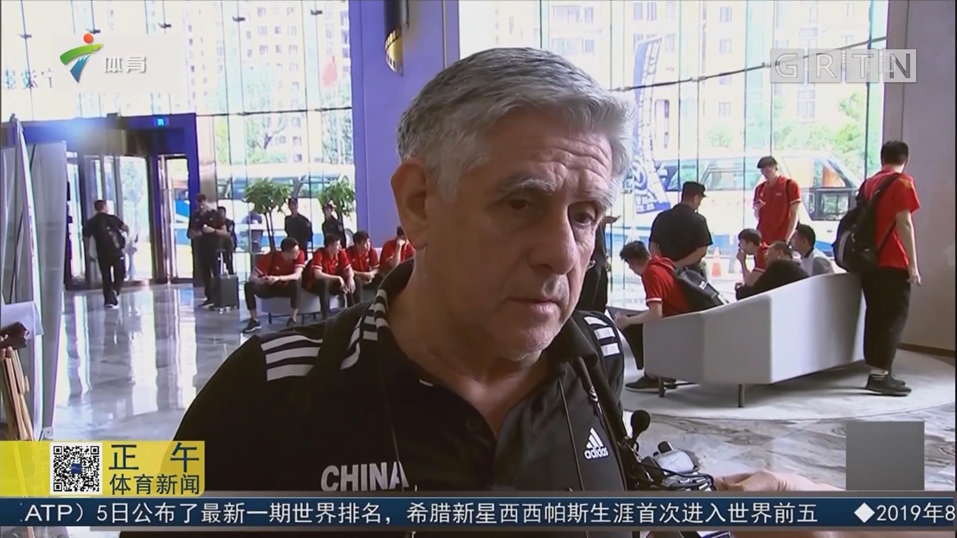 中国男排备战奥运资格赛