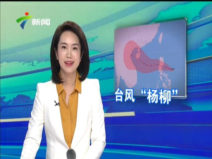 """[2019-08-27]正点播报16点档台风""""杨柳""""生成 或将影响广东"""