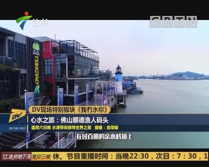 DV现场特别板块《我冇水你》 心水之旅:佛山顺德渔人码头