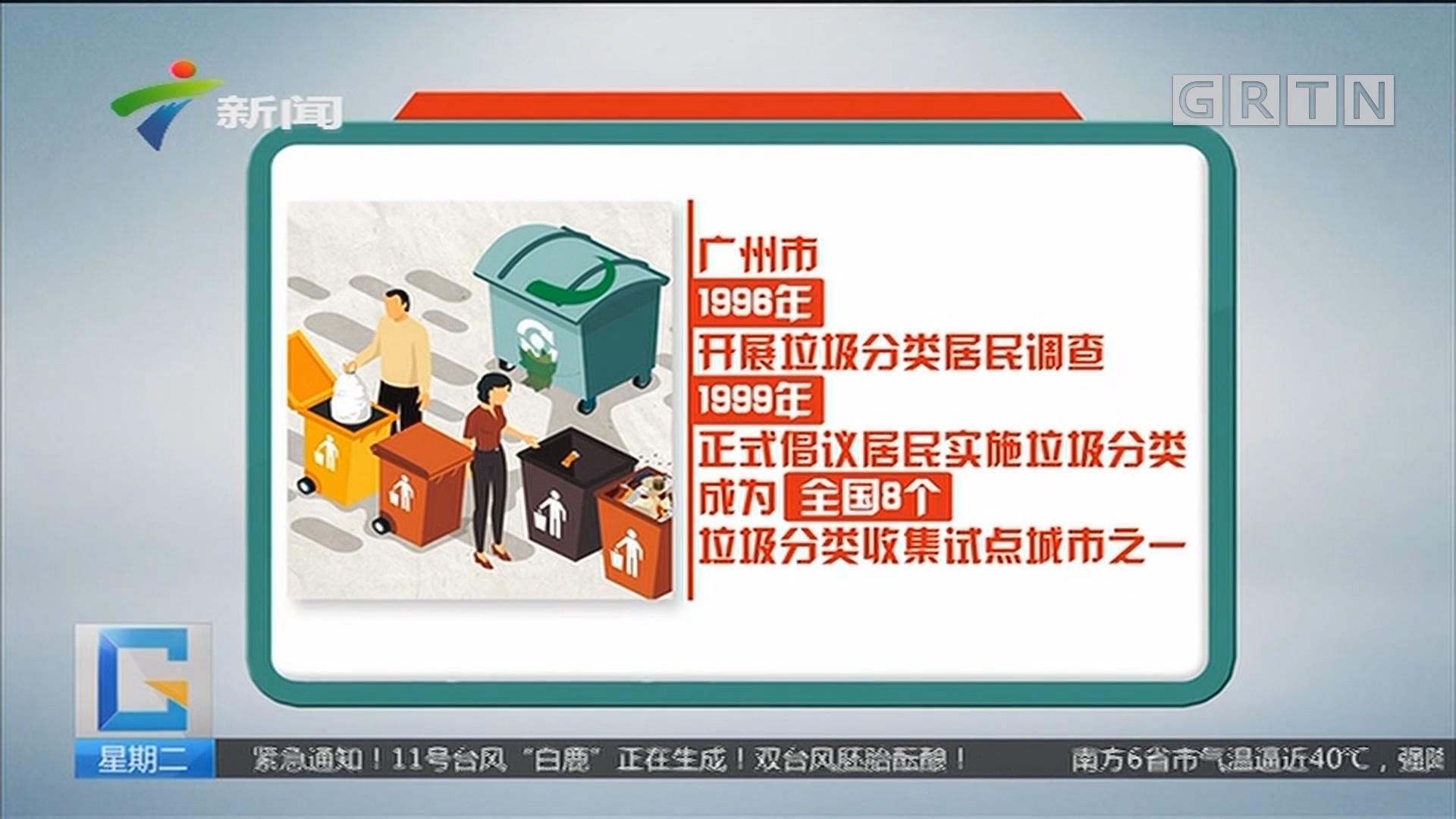 广州:垃圾分类 广州曾先行一步